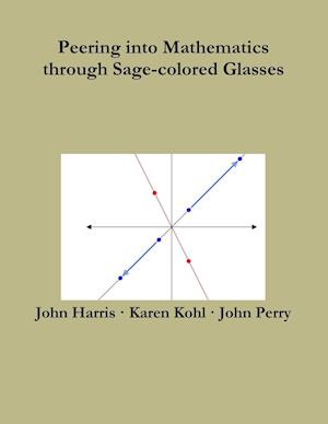 Bog, hæftet Peering into Mathematics through Sage-colored Glasses af John Perry, John Harris, Karen Kohl