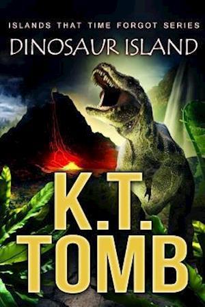 Bog, hæftet DINOSAUR ISLAND af K.T. Tomb