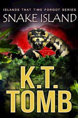 Bog, hæftet SNAKE ISLAND af K.T. Tomb