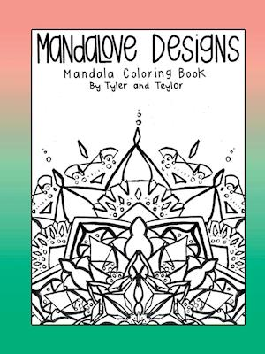 Bog, hæftet Mandalove Designs Coloring Book af Mandalove Designs