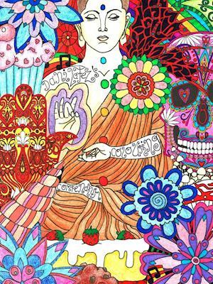 Bog, hæftet Dani LaFezs Colouring Compendium af Danielle Peppiatt