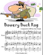 Bowery Buck Rag - Easiest Piano Sheet Music Junior Edition