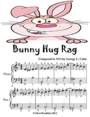 Bunny Hug Rag - Easiest Piano Sheet Music Junior Edition af Silver Tonalities