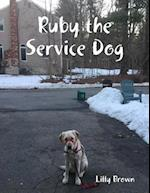 Ruby the Service Dog