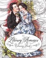 Literary Romance Colouring Book