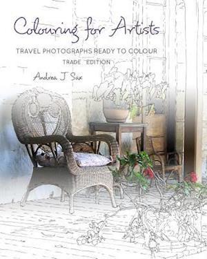 Bog, paperback Colouring for Artists af Andrea J. Sax