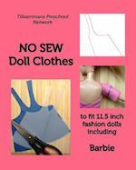 No Sew Doll Clothes