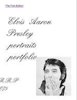 Elvis Aaron Presley Portrait Portfolio First Edition Includes a Stunning Graceland Portrait