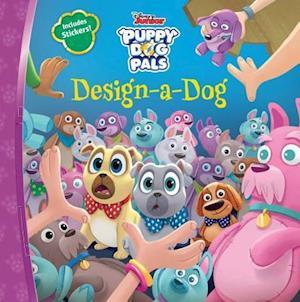 Bog, paperback Design-a-dog af Disney Book Group