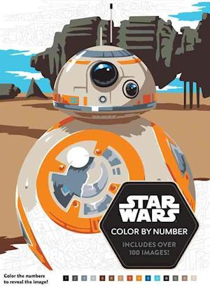 Bog, paperback Star Wars Color by Number af Lucas Film Book Group