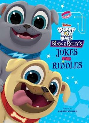 Bog, paperback Puppy Dog Pals Bingo and Rolly's Jokes and Riddles af Disney Book Group