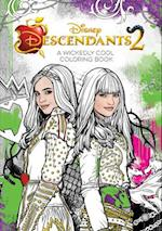 Disney Descendants 2 a Wickedly Cool Coloring Book (Art of Coloring)