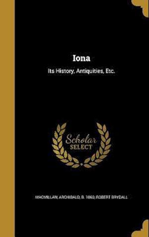 Bog, hardback Iona af Robert Brydall