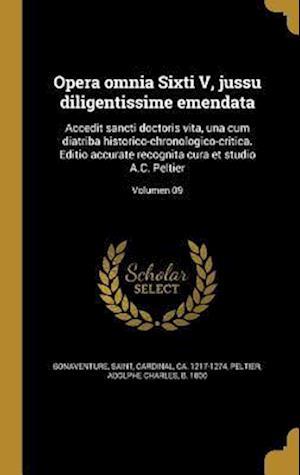 Bog, hardback Opera Omnia Sixti V, Jussu Diligentissime Emendata