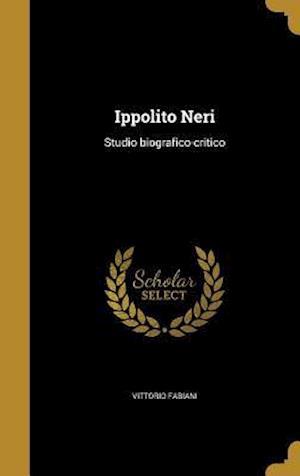Bog, hardback Ippolito Neri af Vittorio Fabiani