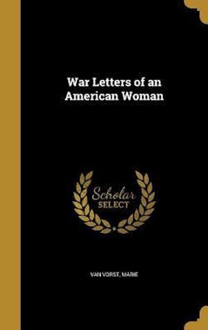 Bog, hardback War Letters of an American Woman