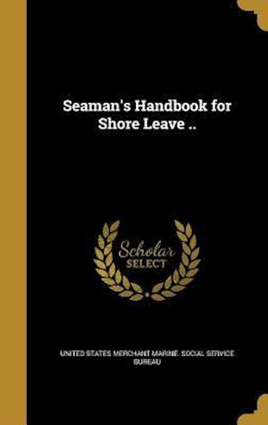Bog, hardback Seaman's Handbook for Shore Leave ..
