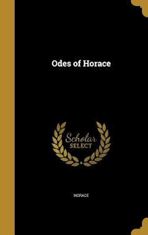 Bog, hardback Odes of Horace