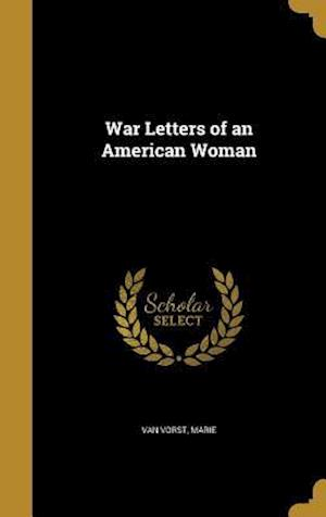 Bog, hardback War Letters of an American Woman