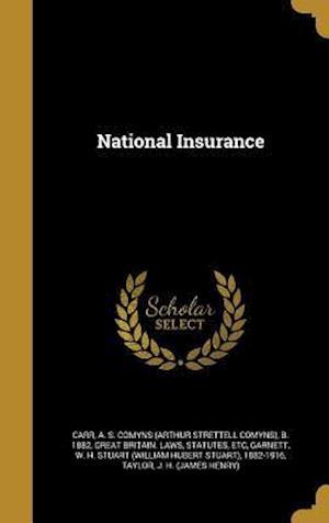 Bog, hardback National Insurance