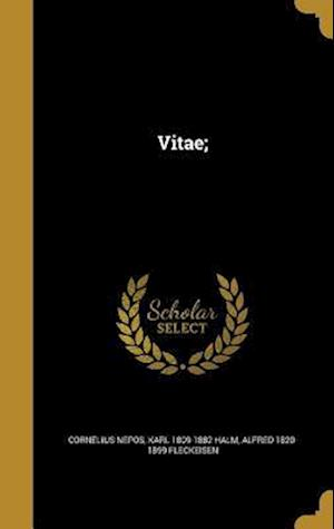 Bog, hardback Vitae; af Karl 1809-1882 Halm, Alfred 1820-1899 Fleckeisen, Cornelius Nepos