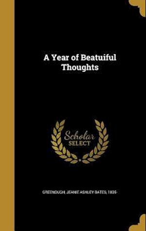 Bog, hardback A Year of Beatuiful Thoughts