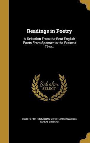 Bog, hardback Readings in Poetry