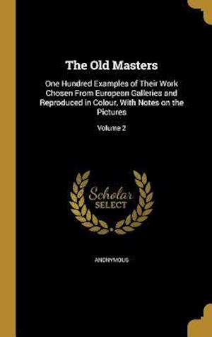 Bog, hardback The Old Masters