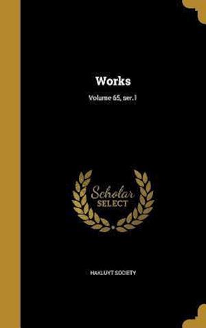 Bog, hardback Works; Volume 65, Ser.1