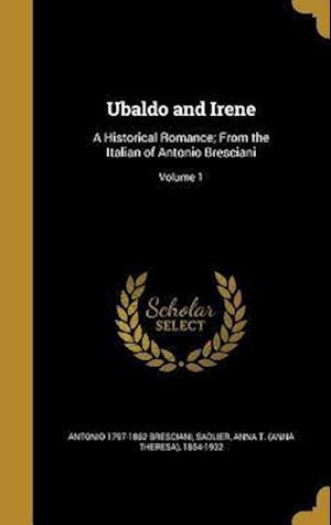 Bog, hardback Ubaldo and Irene af Antonio 1797-1862 Bresciani
