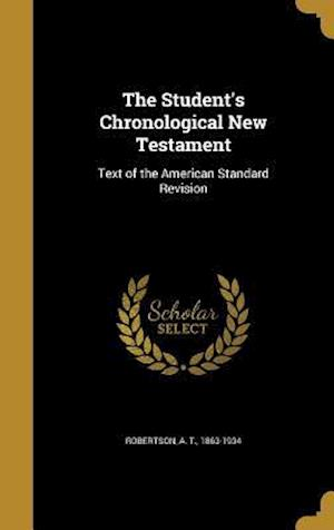 Bog, hardback The Student's Chronological New Testament