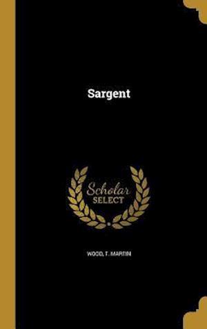 Bog, hardback Sargent