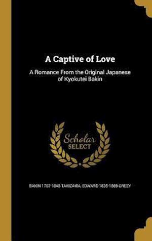 Bog, hardback A Captive of Love af Edward 1835-1888 Greey, Bakin 1767-1848 Takizawa