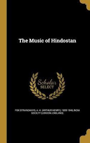 Bog, hardback The Music of Hindostan