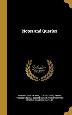 Bog, hardback Notes and Queries