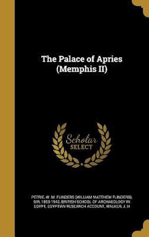 Bog, hardback The Palace of Apries (Memphis II)