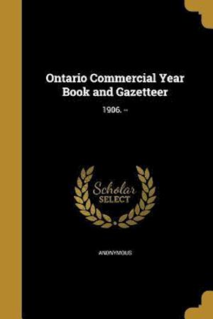 Bog, paperback Ontario Commercial Year Book and Gazetteer