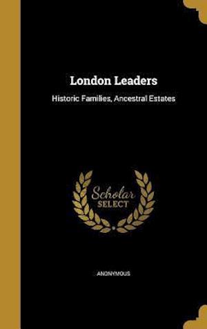 Bog, hardback London Leaders