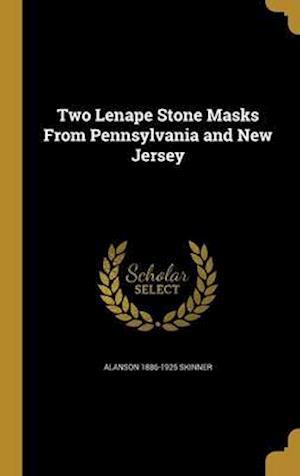 Bog, hardback Two Lenape Stone Masks from Pennsylvania and New Jersey af Alanson 1886-1925 Skinner