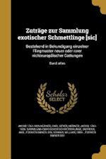 Zutrage Zur Sammlung Exotischer Schmettlinge [Sic] af Jacob 1761-1826 Hubner, Carl Geyer