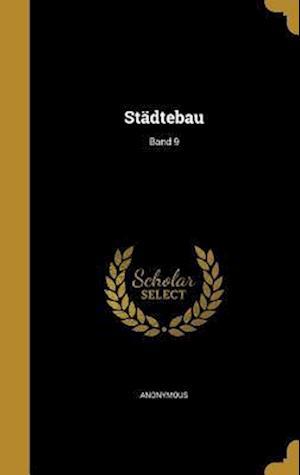 Bog, hardback Stadtebau; Band 9