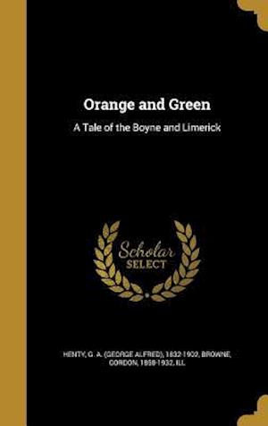 Bog, hardback Orange and Green