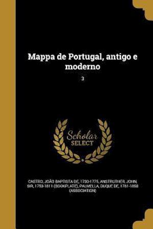 Bog, paperback Mappa de Portugal, Antigo E Moderno; 3