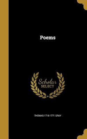 Bog, hardback Poems af Thomas 1716-1771 Gray