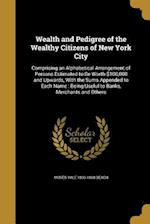 Wealth and Pedigree of the Wealthy Citizens of New York City af Moses Yale 1800-1868 Beach
