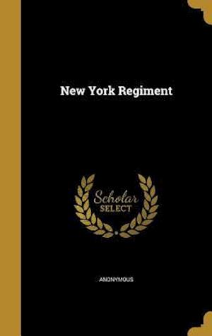 Bog, hardback New York Regiment