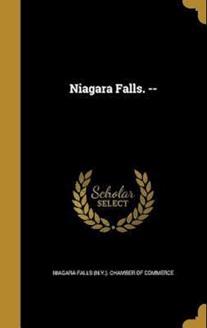 Bog, hardback Niagara Falls. --