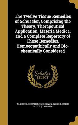 Bog, hardback The Twelve Tissue Remedies of Schussler, Comprising the Theory, Therapeutical Application, Materia Medica, and a Complete Repertory of These Remedies. af William 1849-1929 Boericke