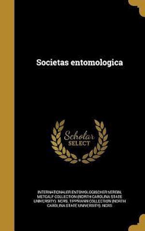 Bog, hardback Societas Entomologica