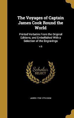 Bog, hardback The Voyages of Captain James Cook Round the World af James 1728-1779 Cook